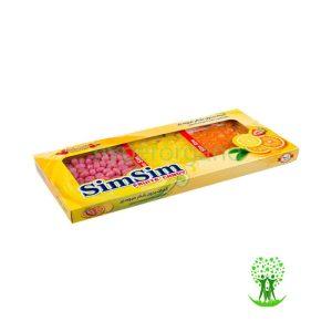 آبنبات میوه ای طبیعی بدون قند سیم سیم آبنبات میوه ای طبیعی بدون قند 320 گرمی سیم سیم