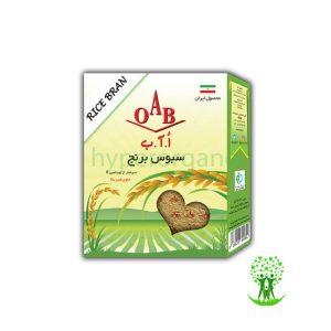سبوس برنج 200 گرمی OAB