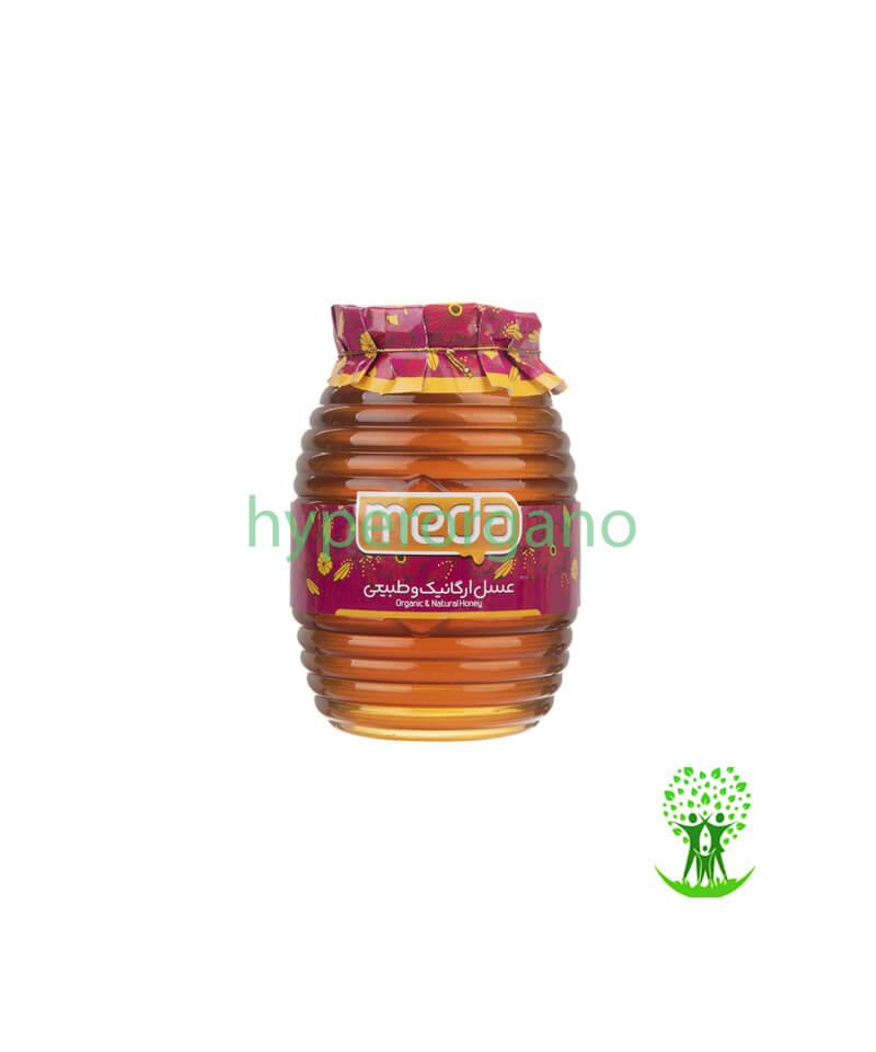 عسل چهل گیاه ارگانیک 500 گرمی مدا