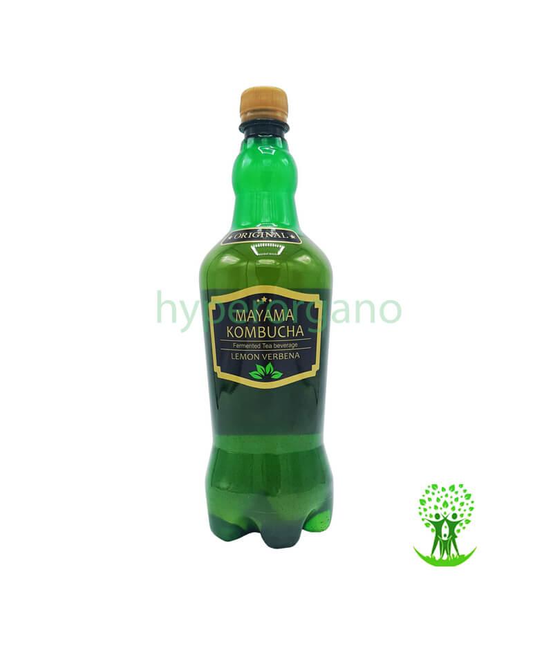 نوشیدنی چای گازدار به لیمو 1 لیتری مایاما کامبوچا