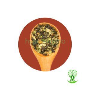 دمنوش گیاهی مخلوط زیره، چای سبز و سنا 75 گرم مهرگیاه