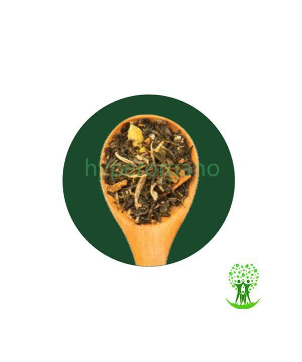 دمنوش گیاهی مخلوط چای سبز و سفید 100 گرم مهرگیاه دمنوش گیاهی مخلوط چای سبز و سفید 100 گرمی مهرگیاه