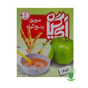 سویق کودک با طعم سیب 200 گرمی ایران گیاه سويق کودک با طعم سيب 200 گرمی ايران گياه