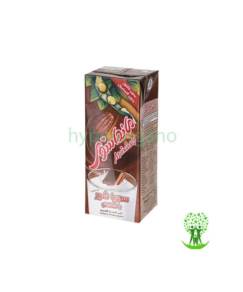 شیر-سویا-طعم-کاکائو-200-گرمی-مانداسوی
