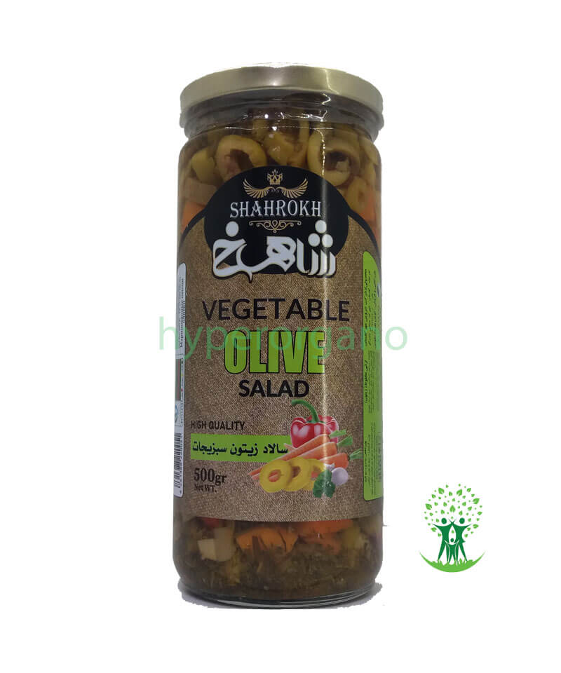سالاد-زیتون-سبزیجات-500-گرمی-شاهرخ