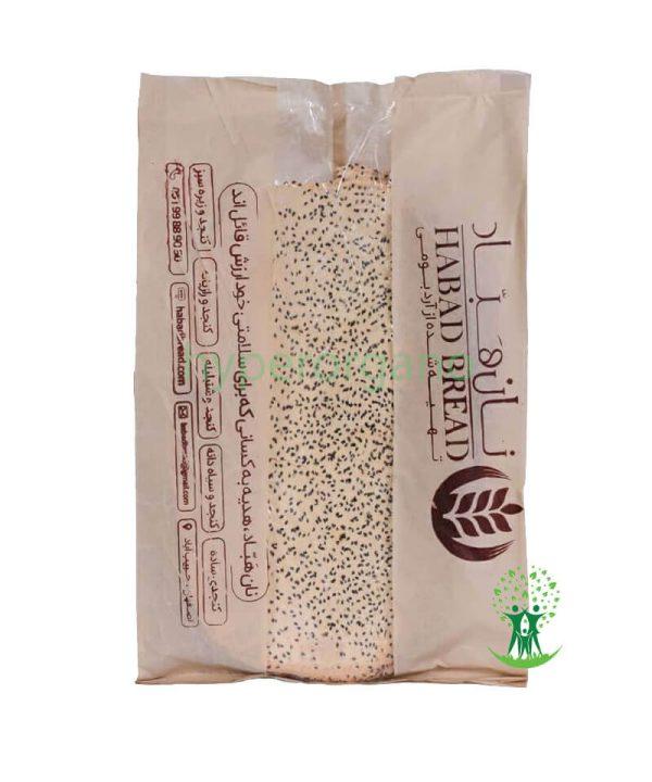 نان-خشک-گندم-کنجد-500-گرمی-هباد