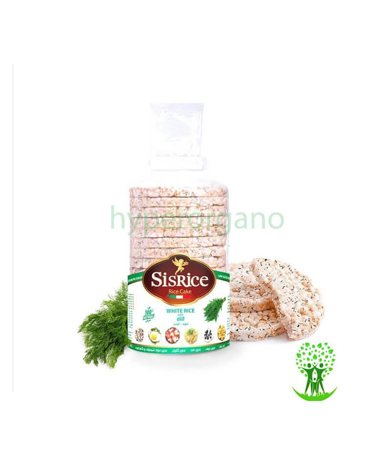 اسنک برنجی شوید 120 گرمی سيس رايس